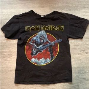 Iron Maiden vintage 2007 tshirt small